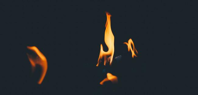 luz de fuego, paleo
